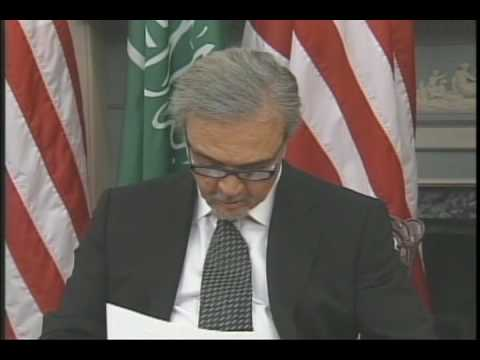Saudi Foreign Minister and Secretary Clinton hold press conference