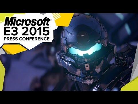 Halo 5 Gameplay Demo - E3 2015 Microsoft Press Conference