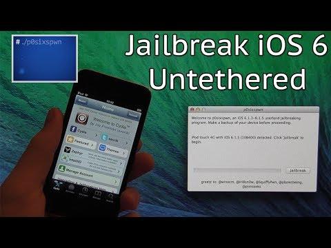 How to Jailbreak iOS 6.1.3/6.1.4/6.1.5/6.1.6 Using p0sixspwn (Untethered)