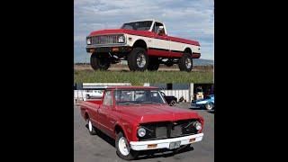 MetalWorks step by step restoration of a custom 1972 Chevy Cheyenne 4x4 truck