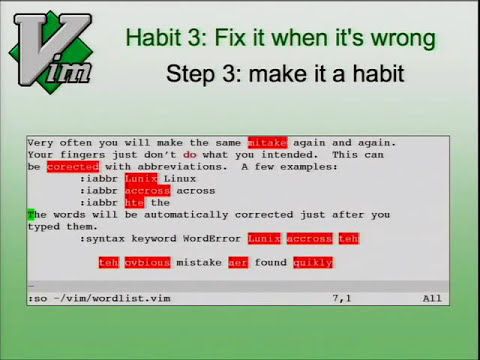 7 Habits For Effective Text Editing 2.0