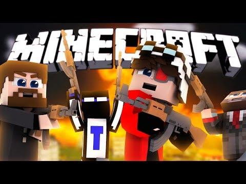 РЕАЛЬНАЯ ВОЙНА ЮТУБЕРОВ - Minecraft Turf Wars