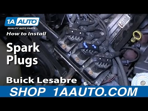 How To Install Replace Spark Plugs 1992-99 Buick Lesabre 3800