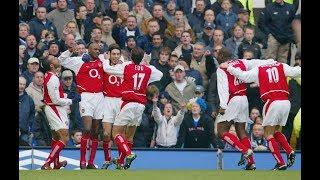 Chelsea 1-2 Arsenal PL 2003/04 FULL MATCH