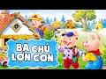 Ba chú lợn con | Phim hoạt hình đặc sắc | Kể Truyện Tranh Hay Cho Bé