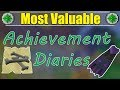 Most Useful Diaries To Unlock In Old School Runescape