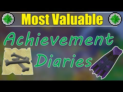 Most Useful Diaries To Unlock In Old School Runescape