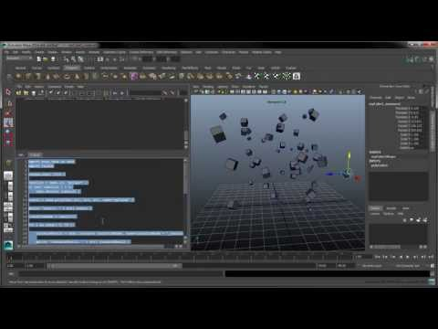 Introduction to Python Scripting in Maya - Part 1: Creating and Manipulating Obj