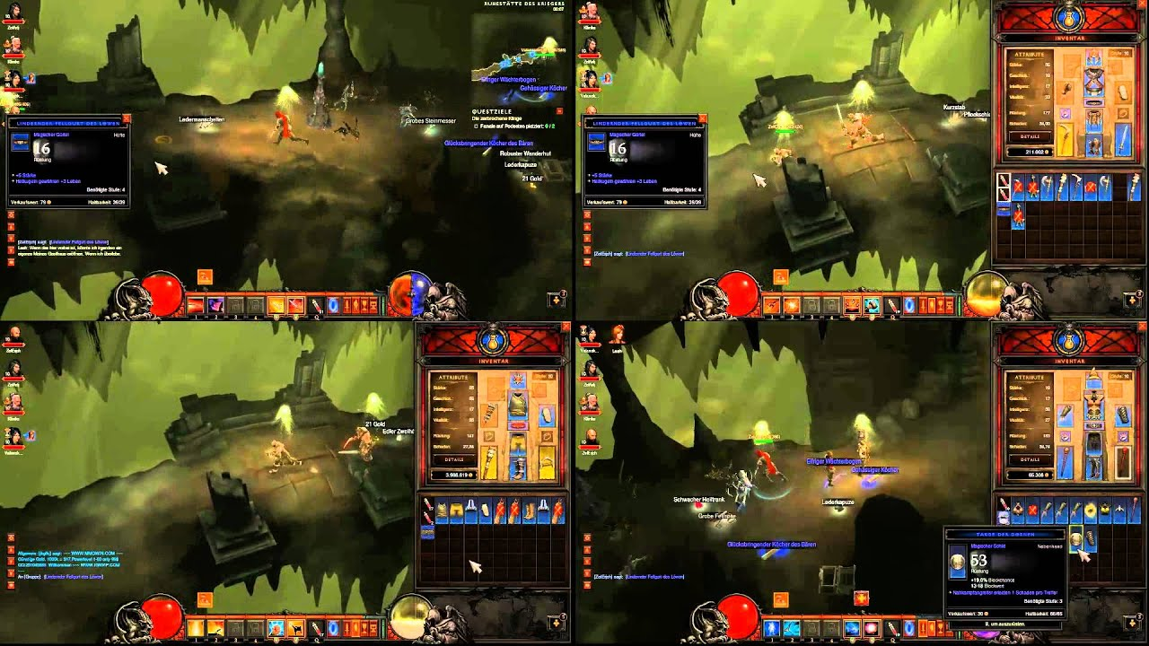 4 player split screen co-op games xbox 360
