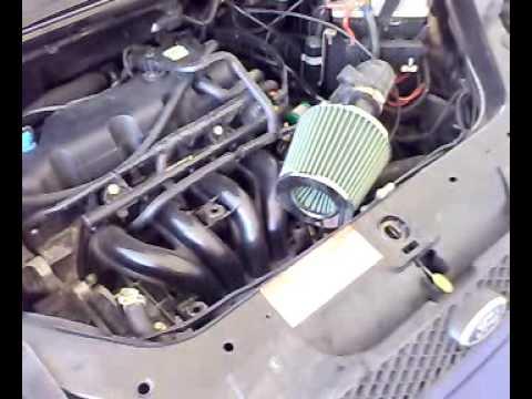 Filtro Conico En Un Ford Fiesta Youtube