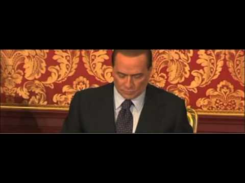 BERLUSCONI RUBY E' PROCEDIMENTO SCANDLOSO 27-10-2012