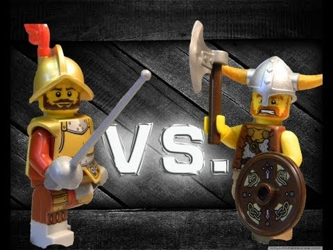 Lego Deadliest Warrior: Viking Vs. Musketeer video