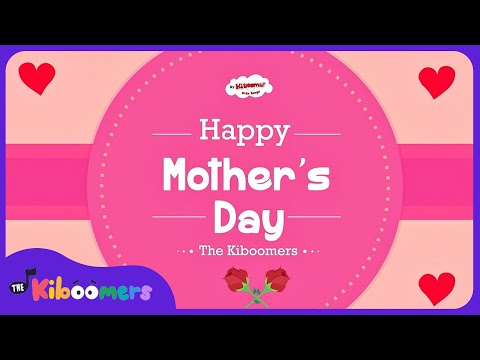 Mother's Day Songs for Kids | Mother's Day Heart Song Preschool | Mother's Day Video for Children