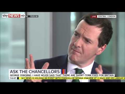 George Osborne: Full Ask The Chancellors Q&A