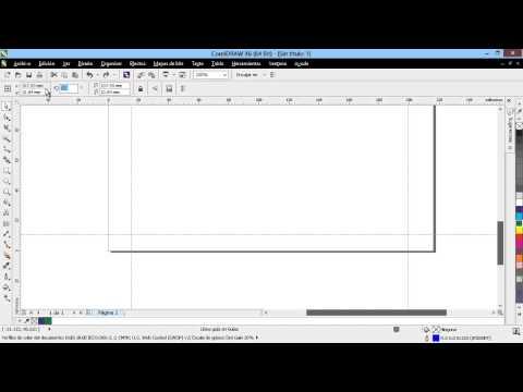 Curso Introducción a CorelDraw X6 - 26 Usar y Configurar Líneas Guías