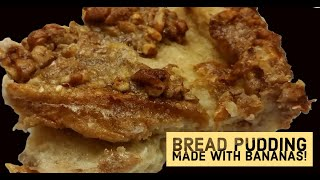 CVC's Old Fashioned Banana Bread Pudding, Mama's Southern Baking Tutorials