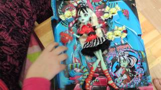 распаковка френки штейн sweet screams monster high