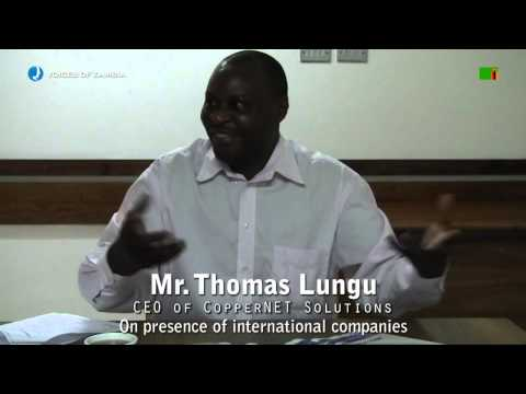 Voices of Zambia - Interview with Thomas Lungu - CEO of CopperNET Solutions
