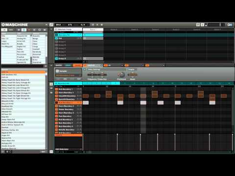 Syncopated Sidechain Effect in Maschine with LFOTool