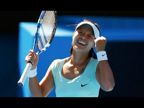 Li Na vs Caroline Wozniacki 2011 AO Highlights