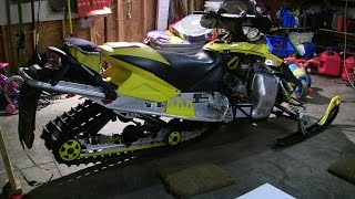 skidoo Rev 800 talk about and no reverse Episode 1