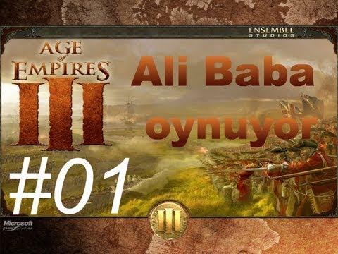 Oynuyoruz - Age of Empires 3 (Türkçe) Bölüm #01 - Halkıma karşı olmuyor