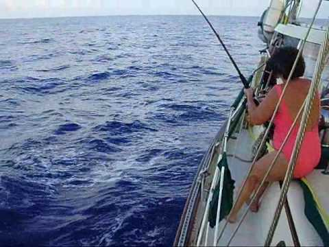 Sailing from San Blas, Panama to Hobbies, Honduras.wmv