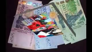 LES AFRICAINS BRULENT LE FRANC CFA AU COEUR DE LA FRANCE/CHAMALIERES