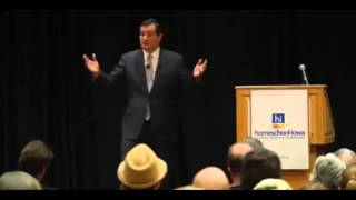 Ted Cruz at Homeschool Iowa Capitol Day