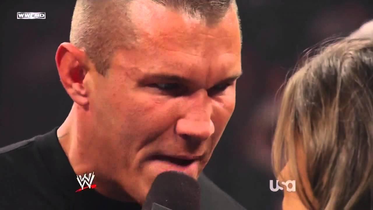 Randy Orton And Stephanie Mcmahon Stephanie McMahon Confronts