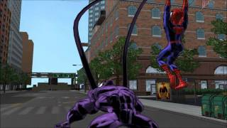 Ultimate SpiderMan Part 4 HD - Throw Down & Class Trip & Johnny Storm medium race