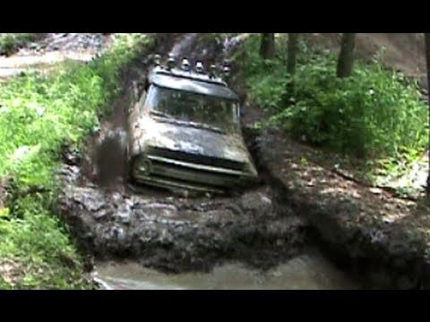 Mud bogging on the red trail by BSF Recovery Team