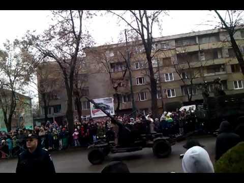 1 Decembrie 2014 Timisoara Parada Militara La multi ani Romania
