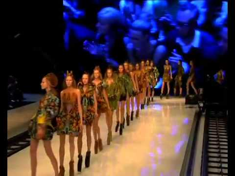 Fashion Model Falls