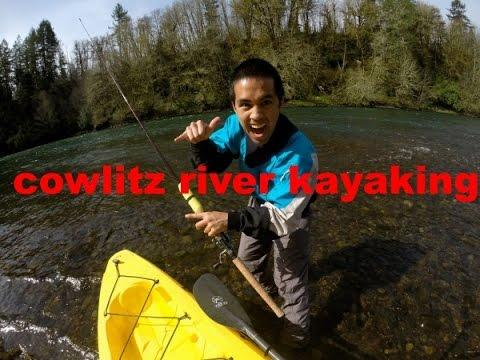 Cowlitz River - Kayak Fishing Adventures