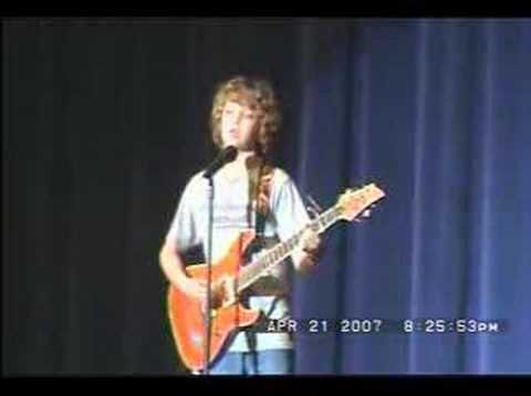Tyler 6th Grade Boulevard of Broken Dreams by Green Day - Sykesville Middle School Talent Show 2007