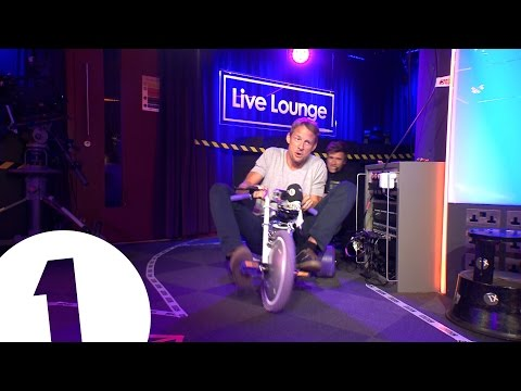 Jenson Button vs Greg James... Tricycle