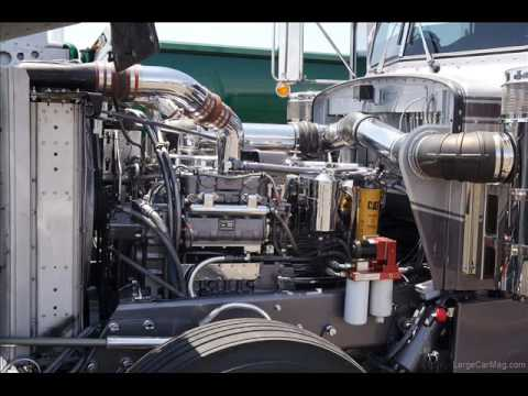 Truck Diesel Engines Video