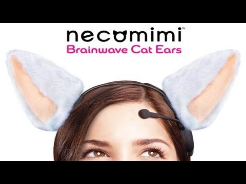 Kitty Ears You Control with Brainwaves! CES 2013