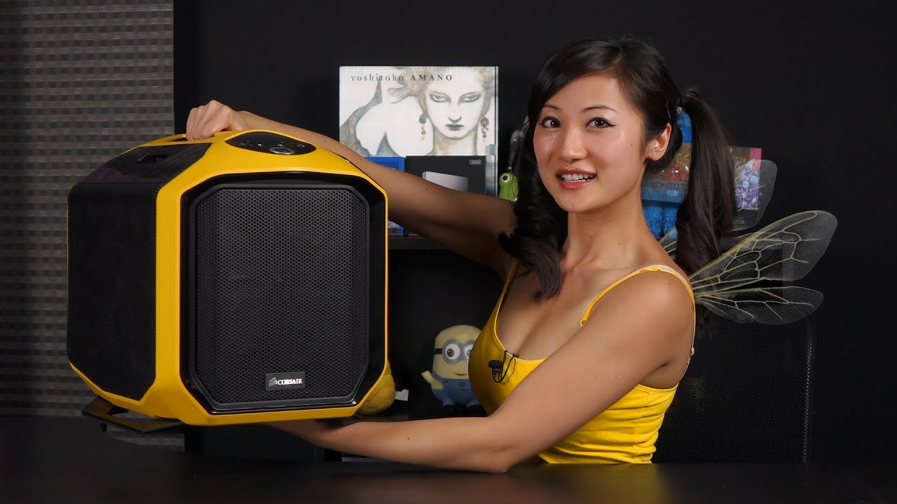 corsair 380t mini itx pc case review hornet edition