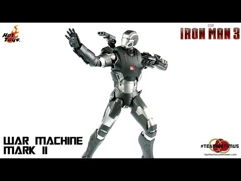 Video Review of the Hot Toys Iron Man 3: War Machine MK II