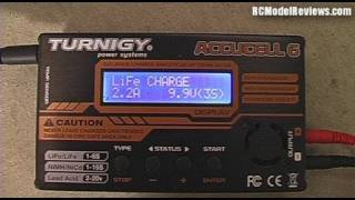 Setting a 4-button charger to charge LiFePO4 or A123 batteries