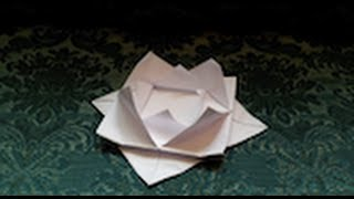 How To Make Your Own Origami Water Lily