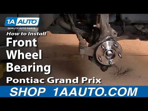 How To Install Replace Front Wheel Bearing Grand Prix Impala 1AAuto.com