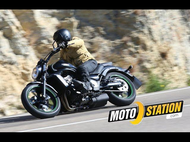 Vid�o Essai Kawasaki Vulcan S : Le custom sportif homologu� A2 !