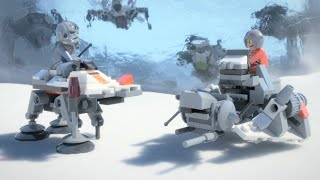 Micro Battle of Hoth - LEGO Star Wars - Mini Movie