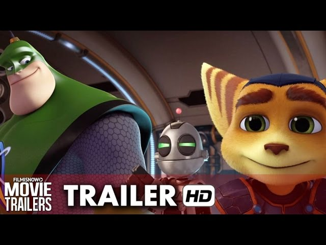 Ratchet & Clank (2016) - Movie Trailer [HD]