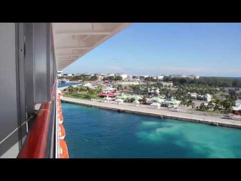 Departing From Freeport Aboard the Carnival Sunshine