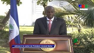 VIDEO: Adresse a la nation du President Jovenel Moise - Vendredi 27 Mars 2020