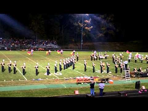 Floyd County High School Marching Band 2012- West Side Story